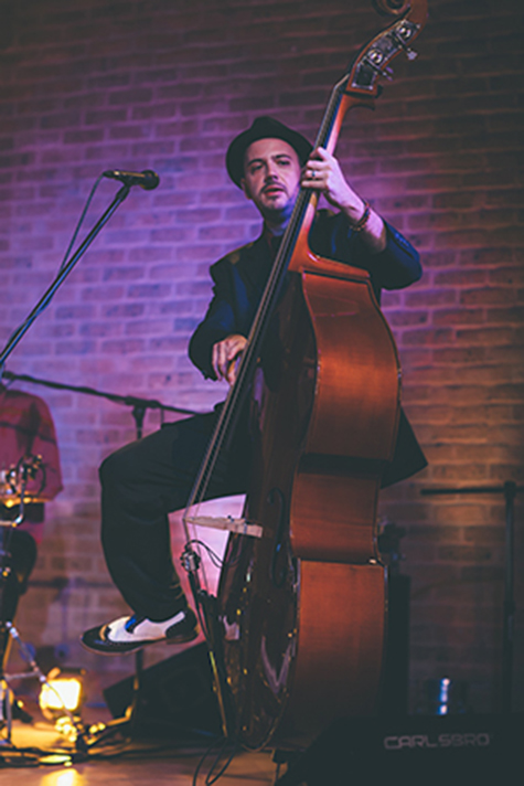 Jumping Jacks Exciting Upright Bass Performer