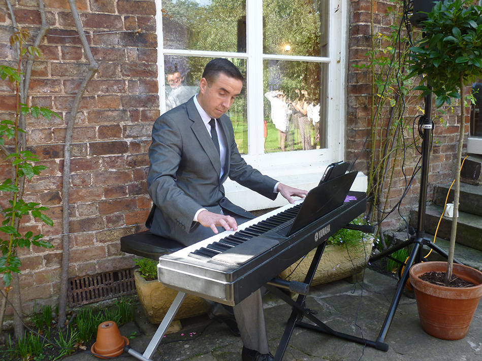 James B Wedding Pianist For Hire Liverpool