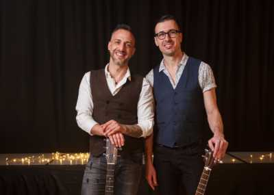 Glossy Acoustic Duo For Weddings