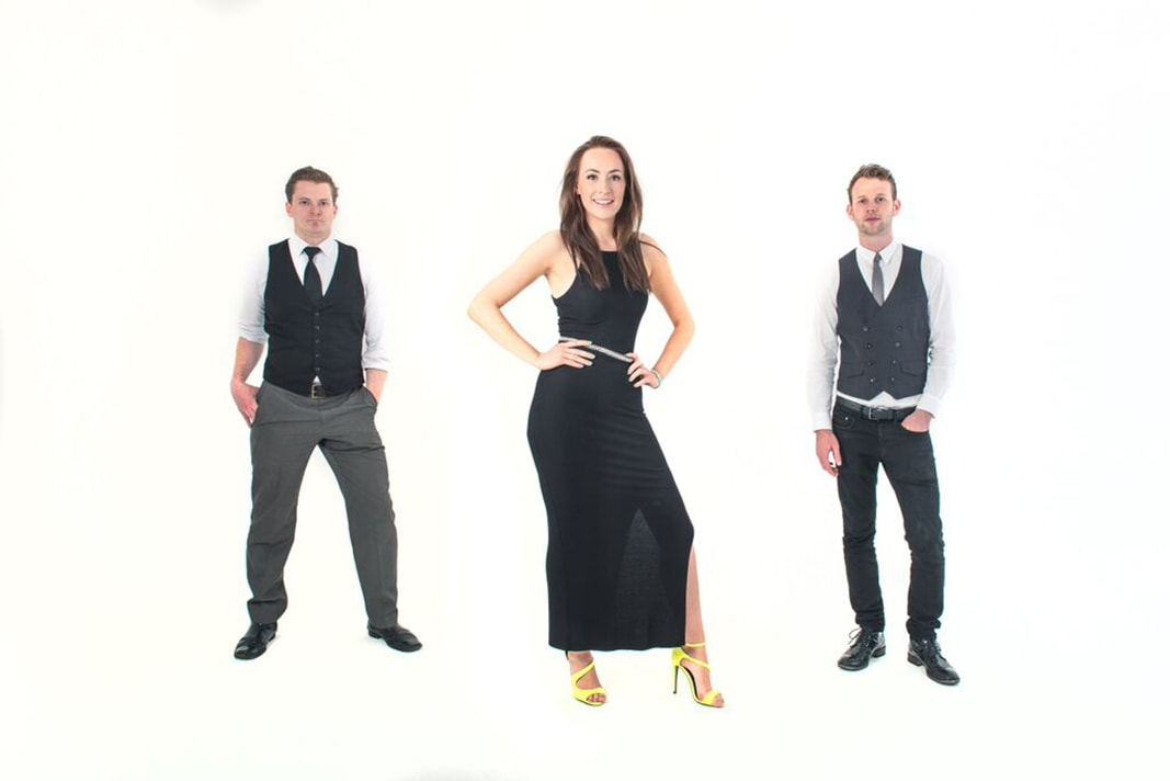 Get Lucky Trio Wedding Band Hire Brighton