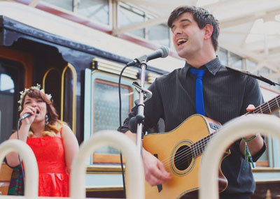 Quartertones Acoustic Wedding Duo Bristol For Hire
