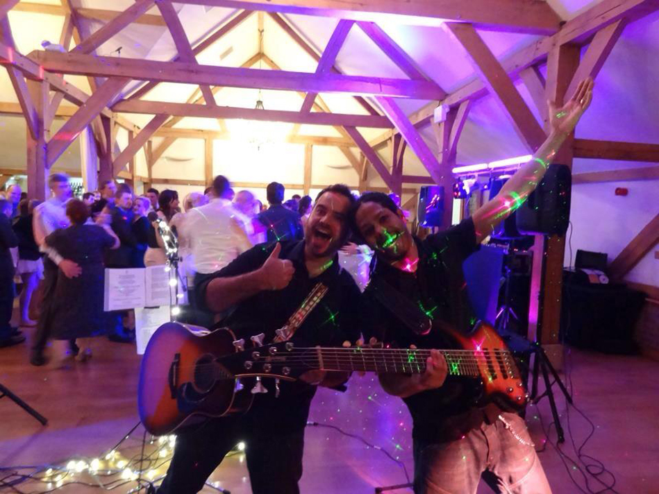 White Rabbit Energetic Live Wedding Band Notts