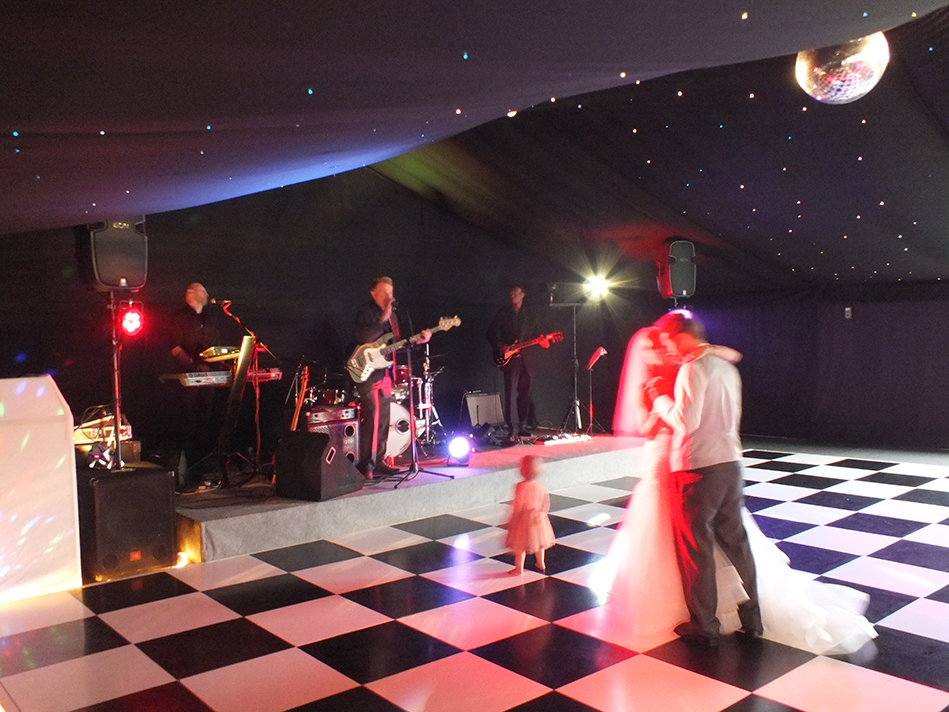 Festival Wedding First Dance Live Band