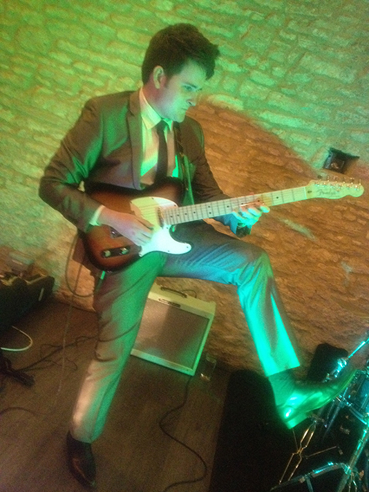 Red Hot Guitar Licks Wedding Band For Hire