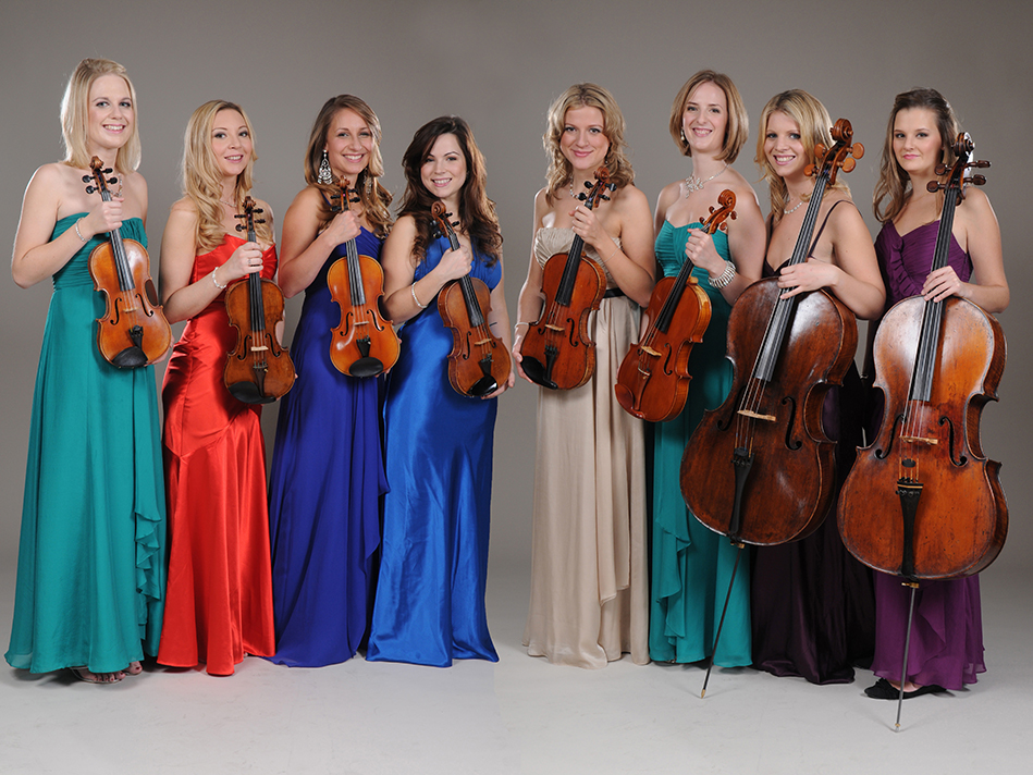 Flower Quartet Classical Strings For Hire Wedding
