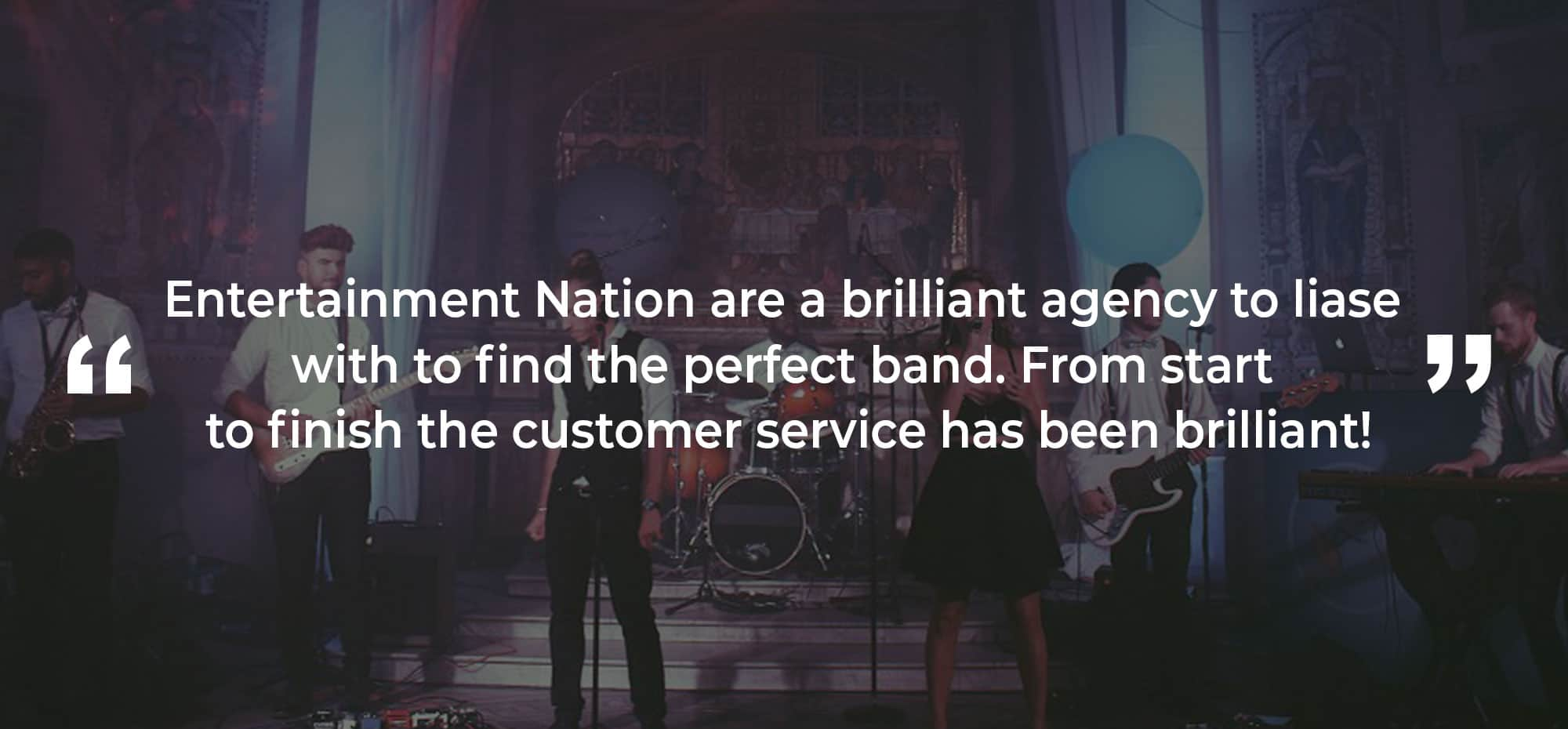 Review of a Function Band Central Scotland
