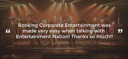 Review of Corporate Entertainment Derby