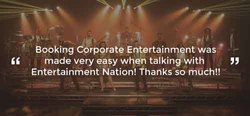 Client Review of Corporate Entertainment Greater London