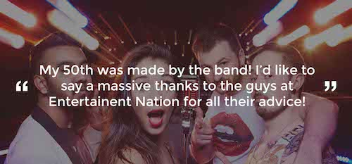 Review of Party Band Newcastle upon Tyne