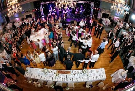 Wedding Band Dance Floor