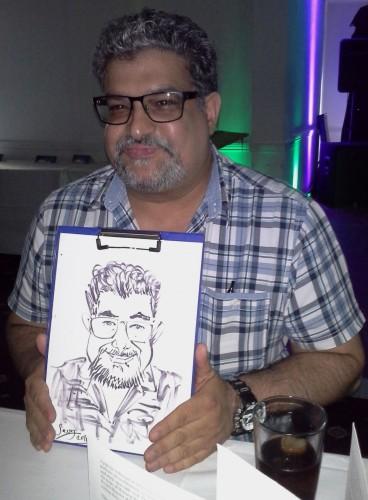 Speedy Steve - Wedding Caricaturist