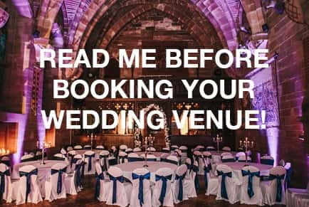 Warning About Booking Wedding Venue