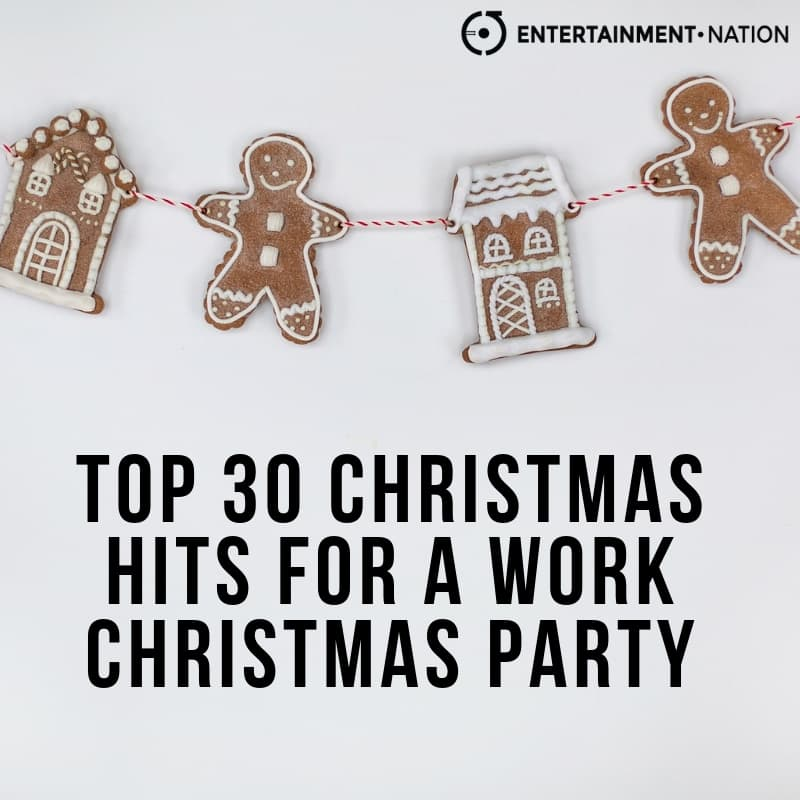 TOP 30 OFFICE CHRISTMAS PARTY SONGS! | Entertainment Nation