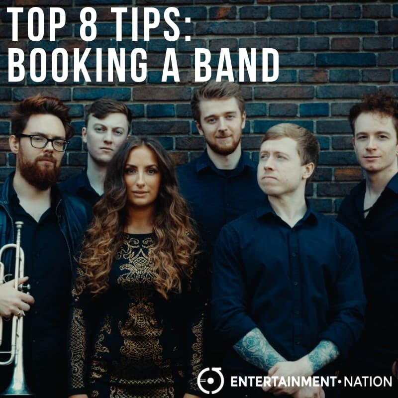 Top 8 Tips Booking A Band