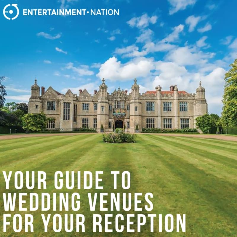 Your Guide To Wedding Venues For Your Reception