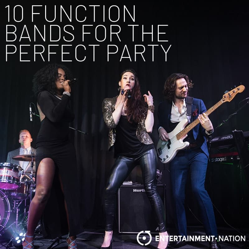 10 Party Function Bands