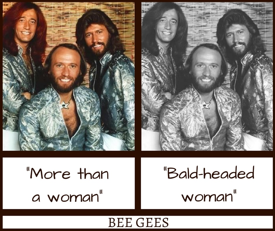 Bee Gees More Than a Woman Misheard Lyrics