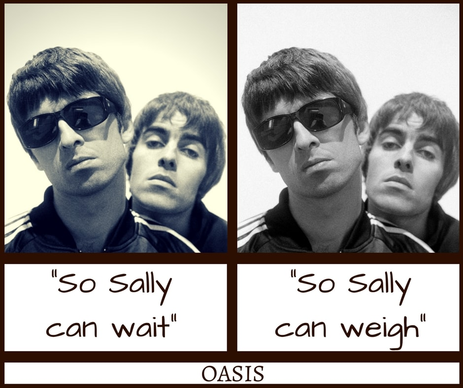Oasis Don't Look Back In Anger Misheard Lyrics