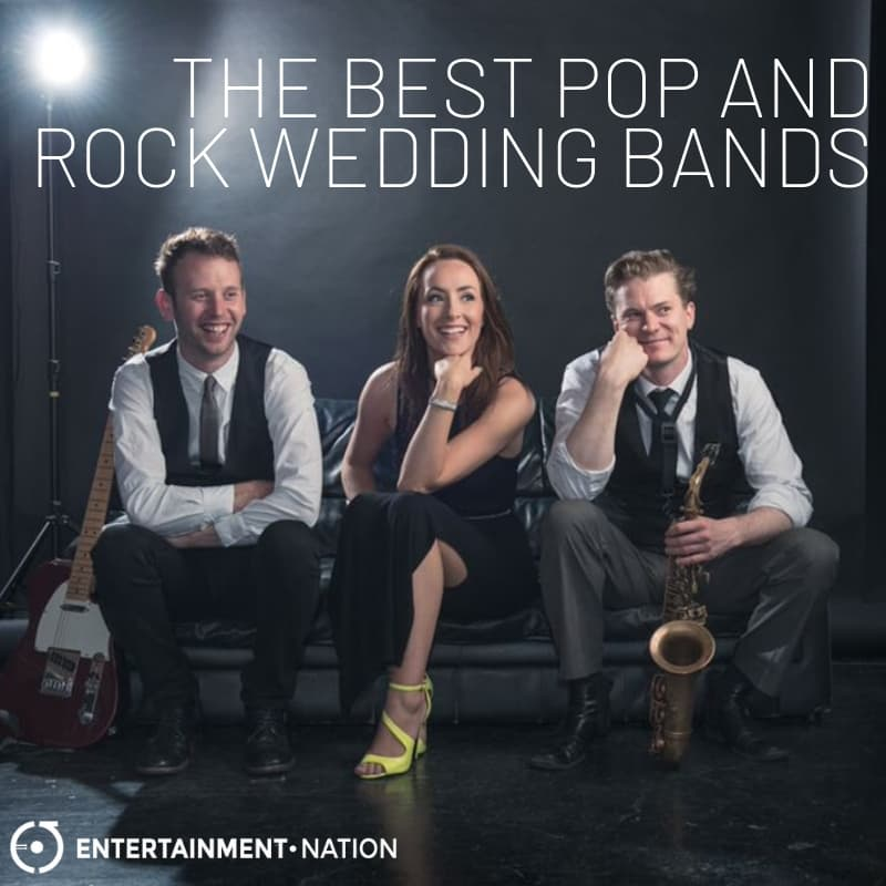 The Best Pop and Rock Wedding Bands