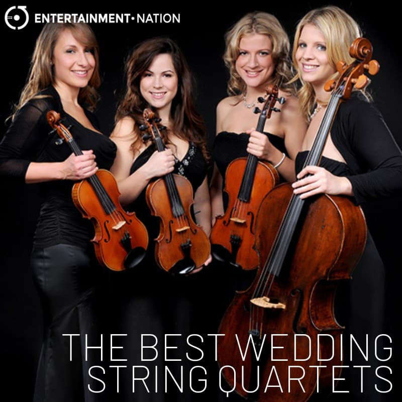 The Best Wedding String Quartets