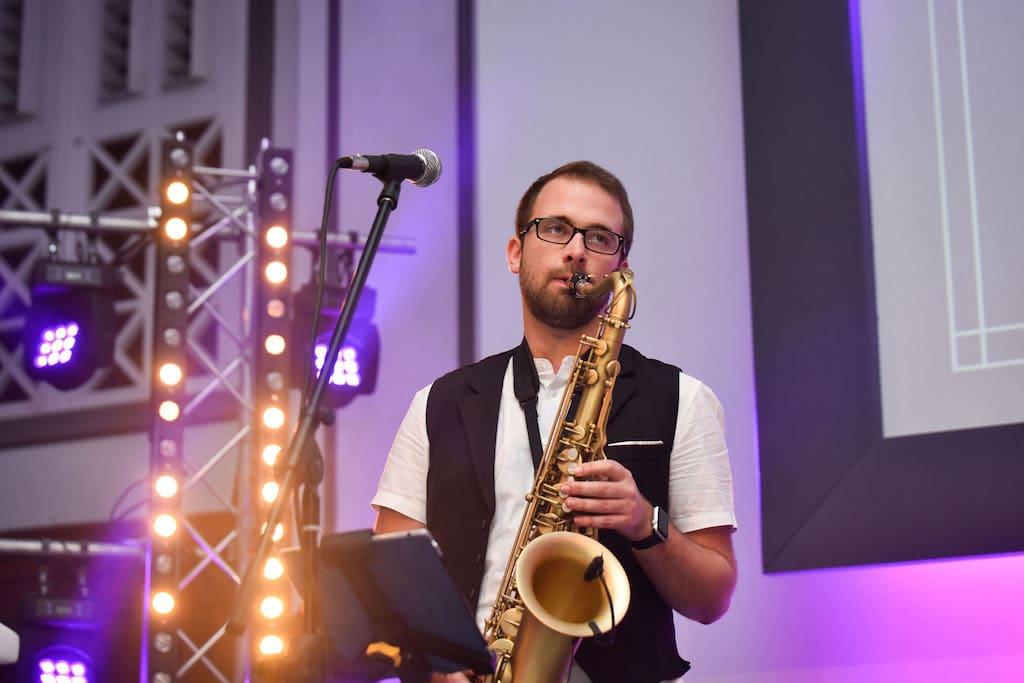 Wandering Wings Saxophonist
