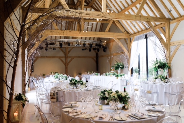 Redhouse Barn Wedding Tables