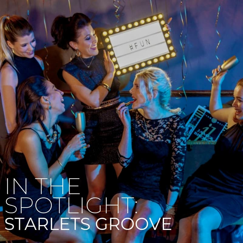 Starlets Groove In The Spotlight