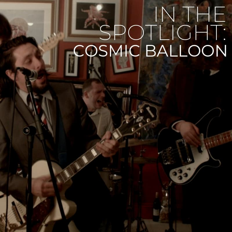 Cosmic Balloon In The Spotlight