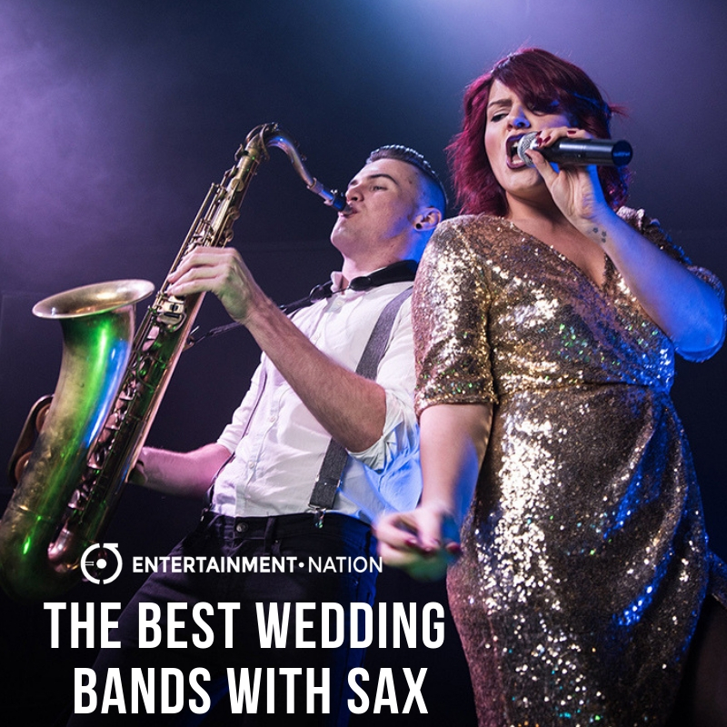 Wedding Bands With Saxophone