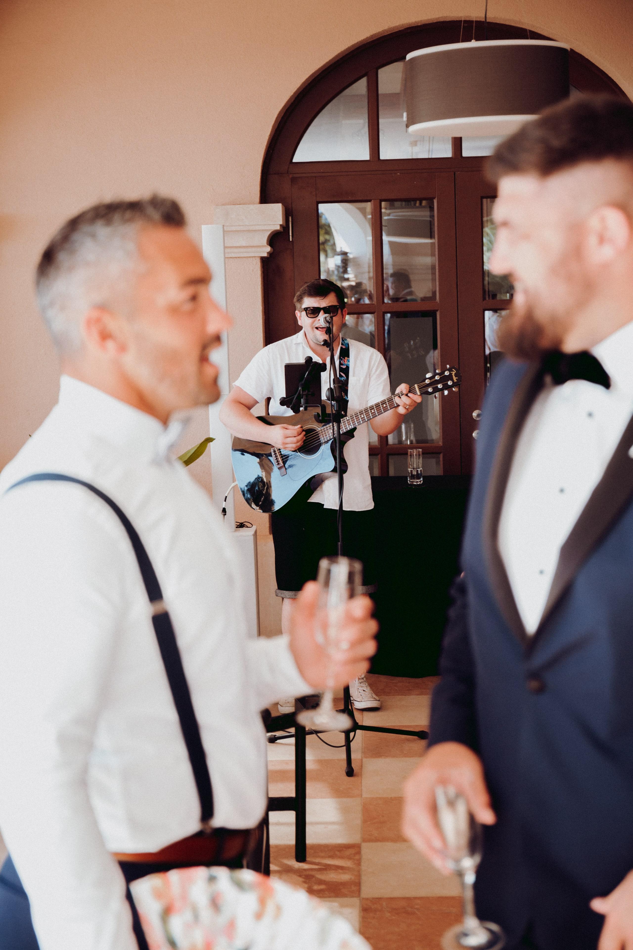 Abbi and Ryan's Daytime Wedding Entertainment