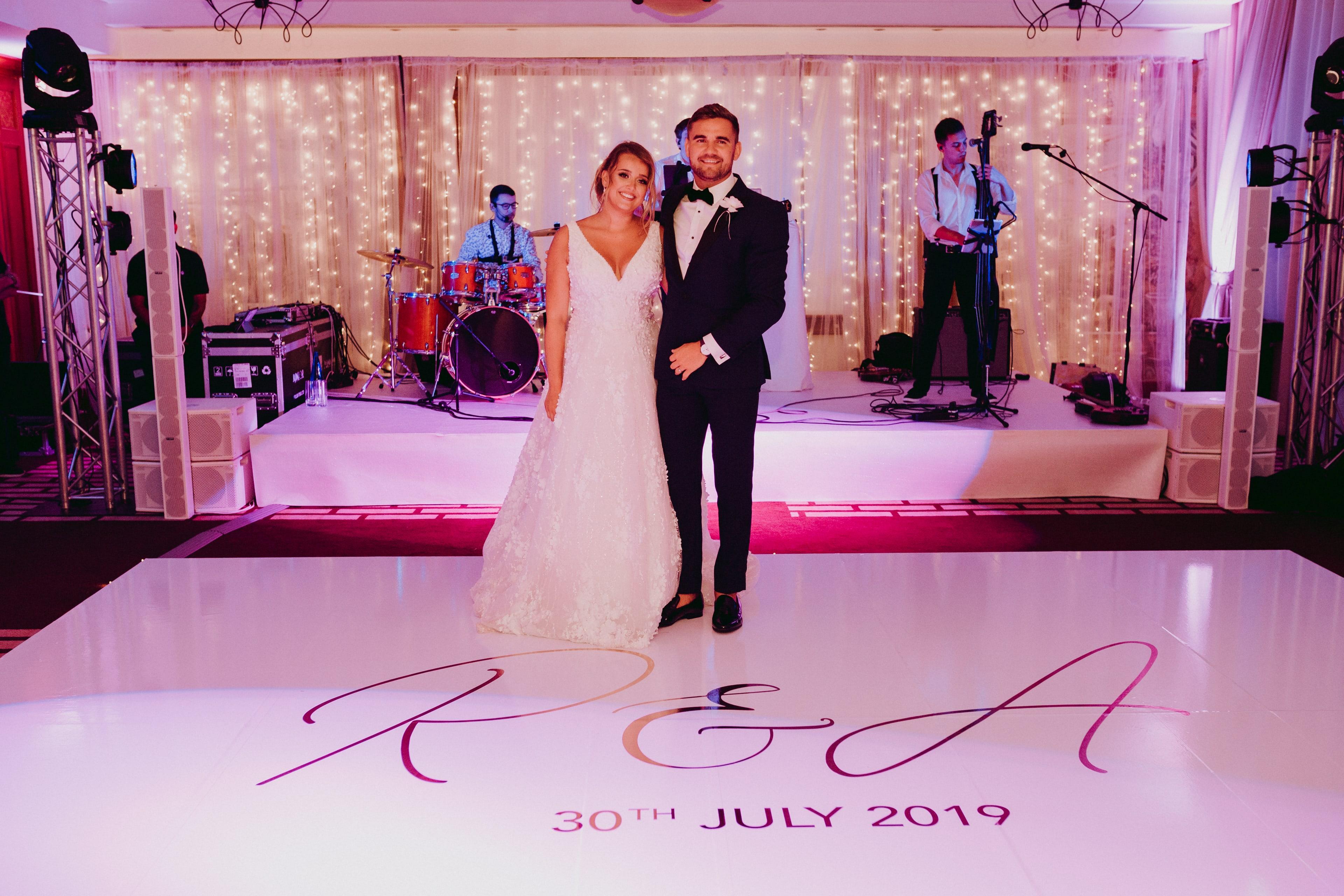 Abbi and Ryan Mallorca Wedding Reception