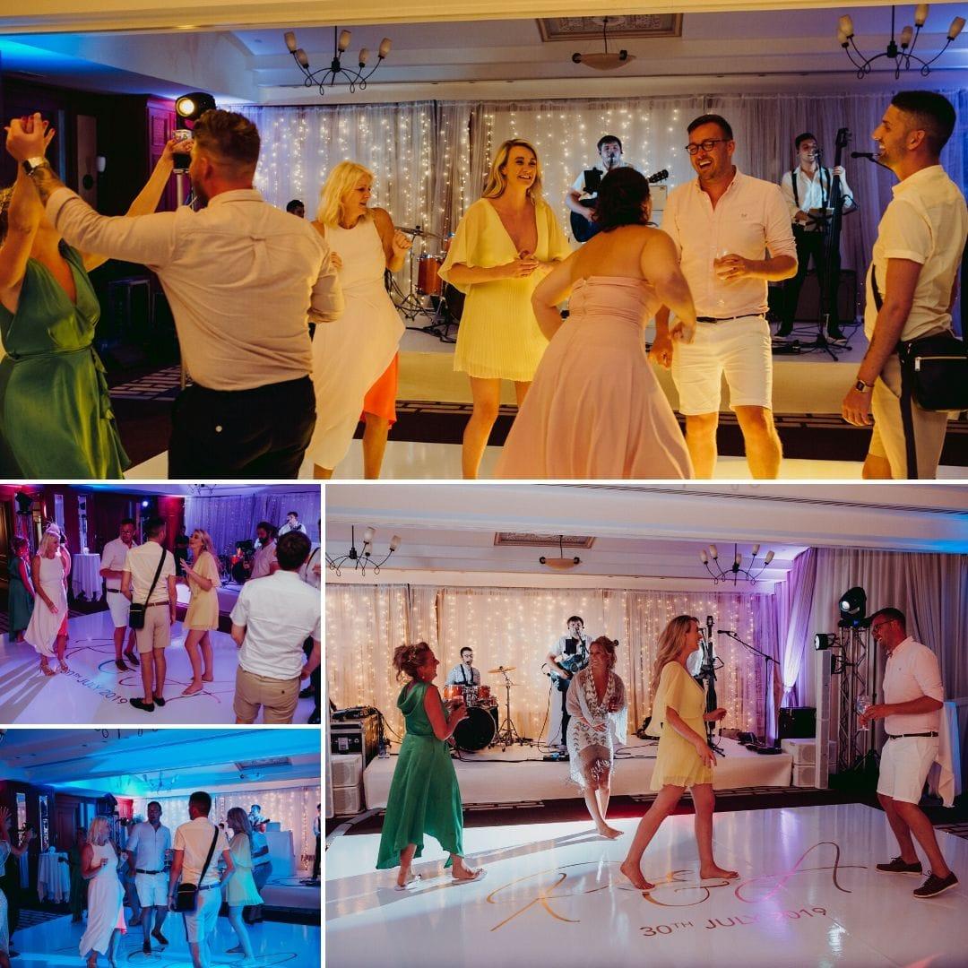 Guests Dancing at Abbi and Ryan's Wedding