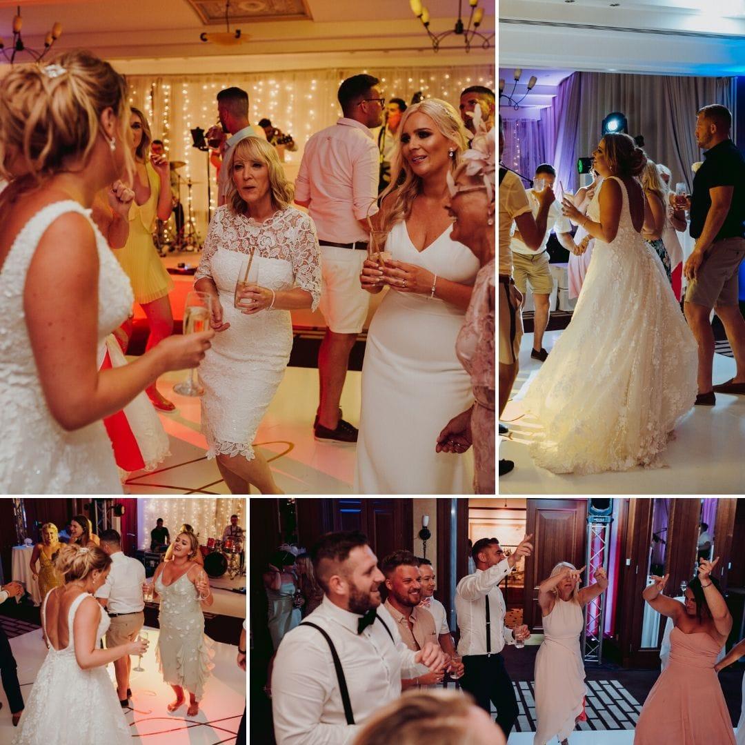 Mallorca Wedding Dance Floor Abbi and Ryans Wedding