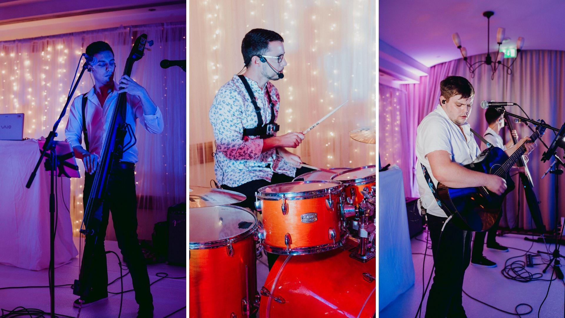 The Lightmen 3 Piece Wedding Band