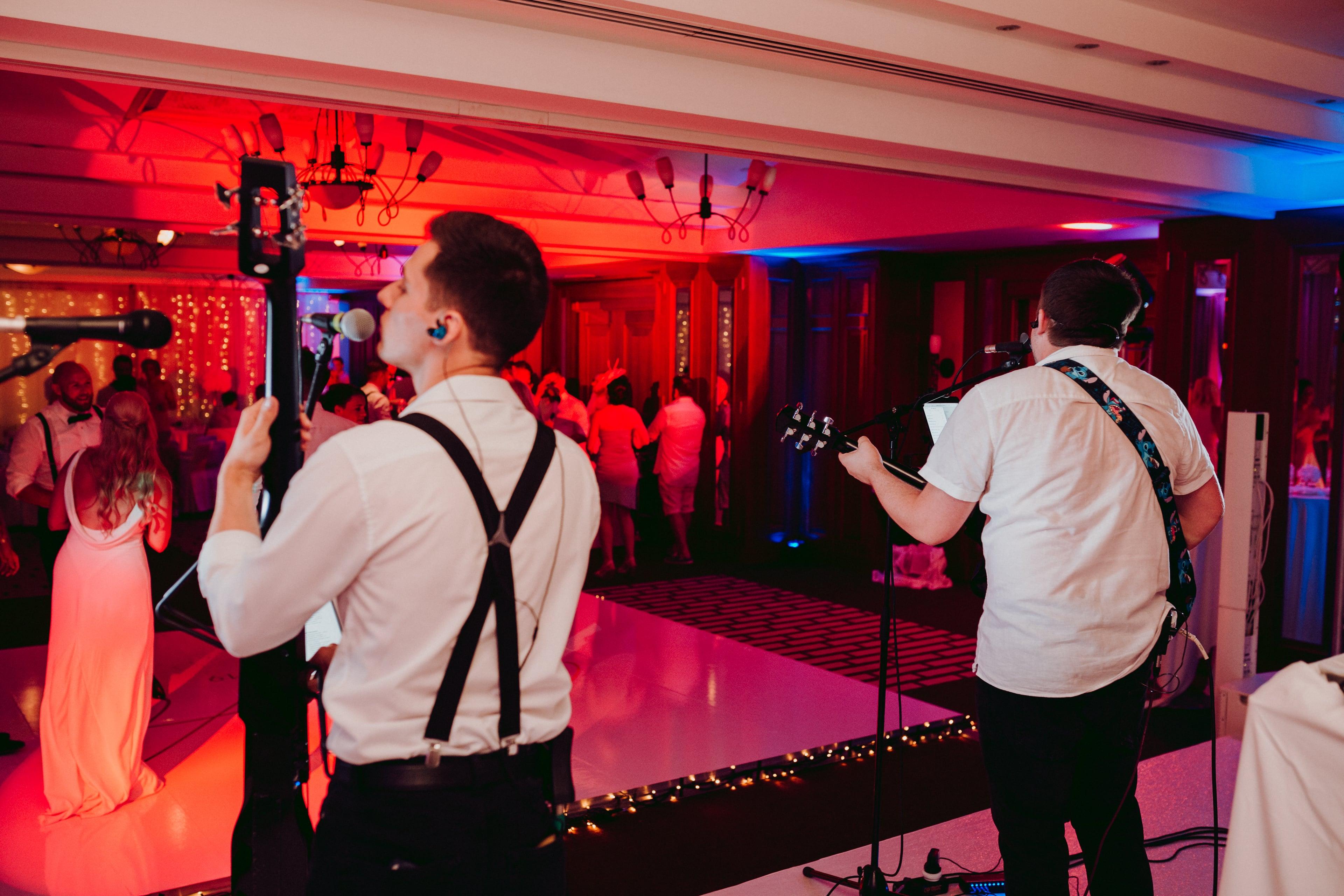 The Lightmen Wedding Performance in Mallorca