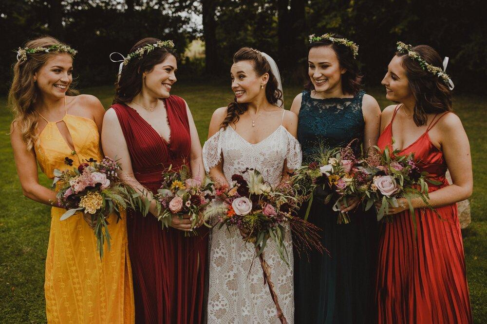 Tasha and Bridesmaids
