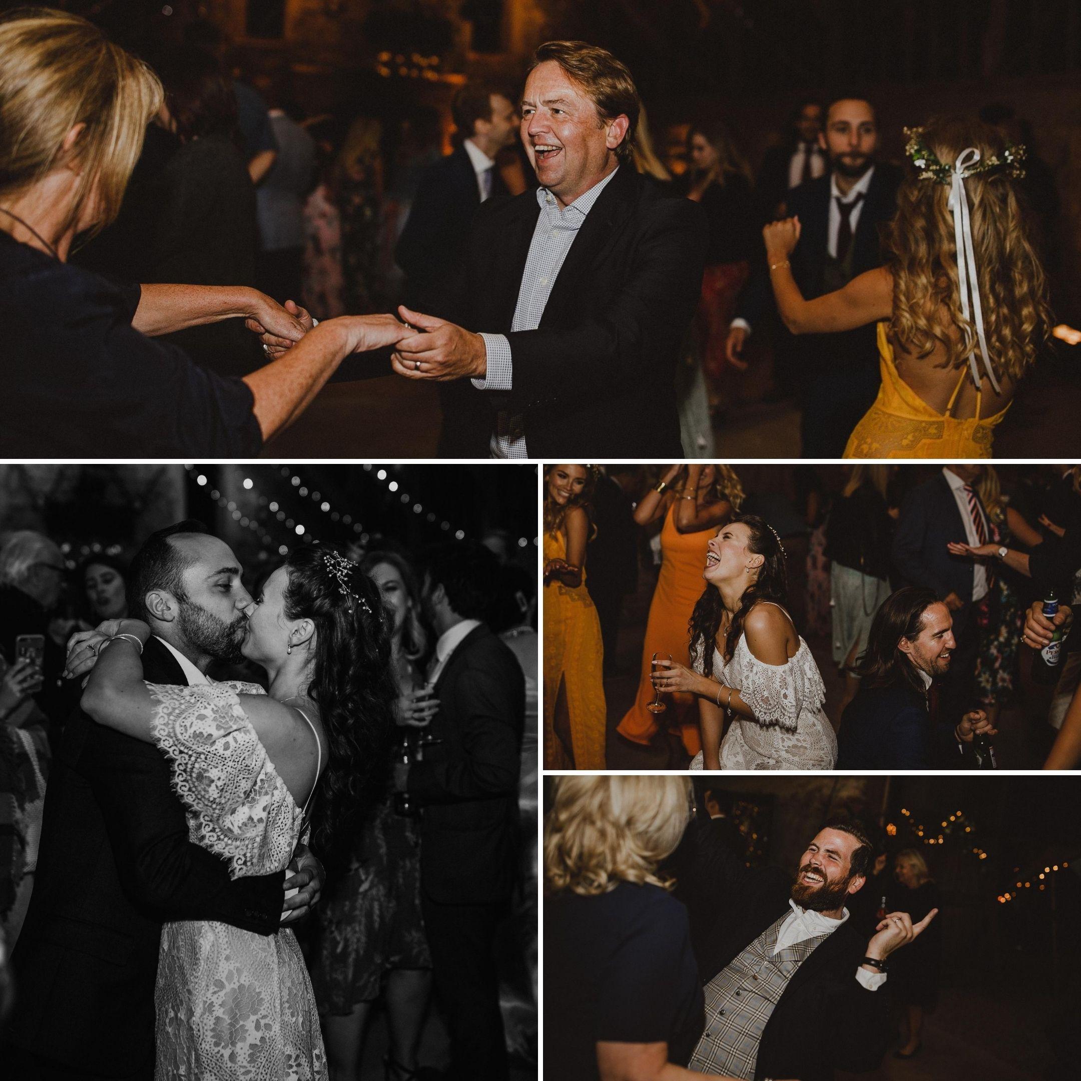 Wedding Dancing Tasha and Tom