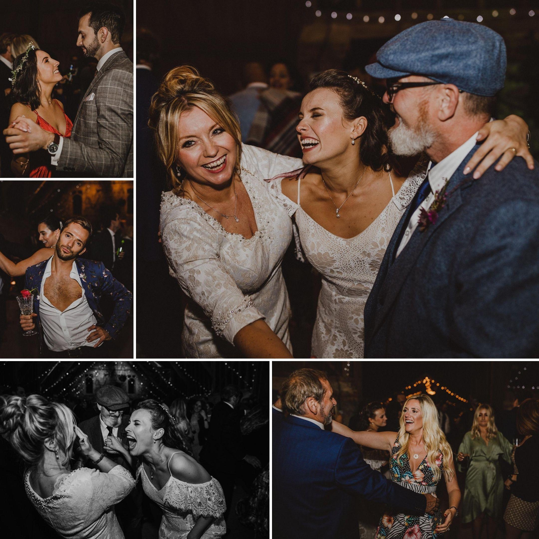 Wedding Guests Tasha and Tom