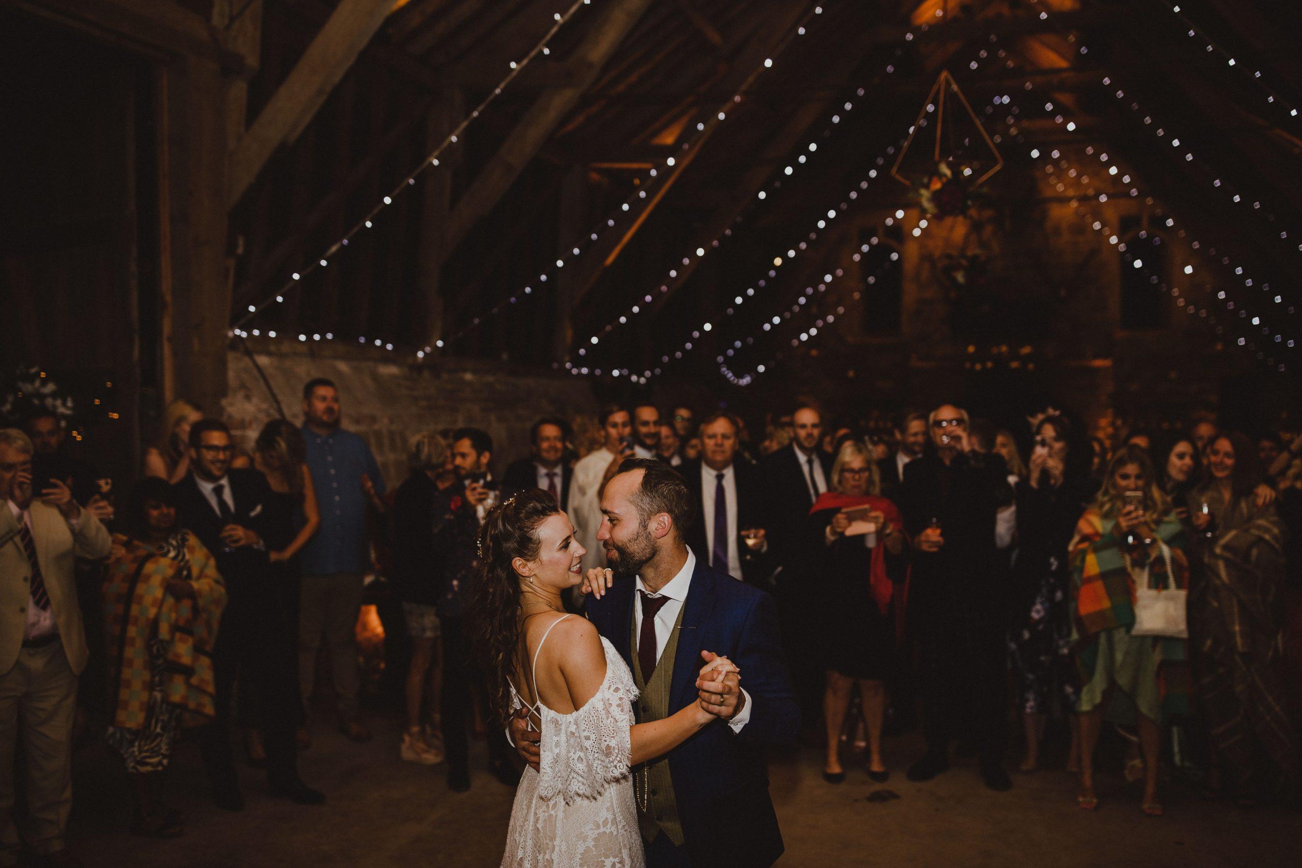Wick Bottom Barn Tasha and Tom First Dance