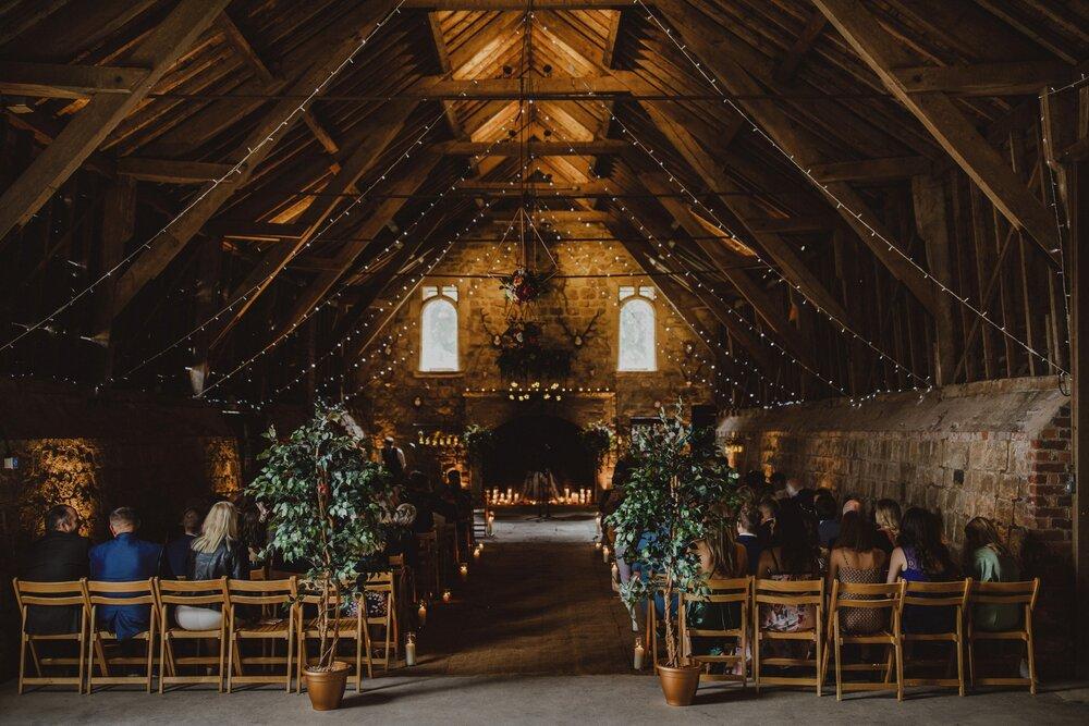 Wick Bottom Barn Ceremony