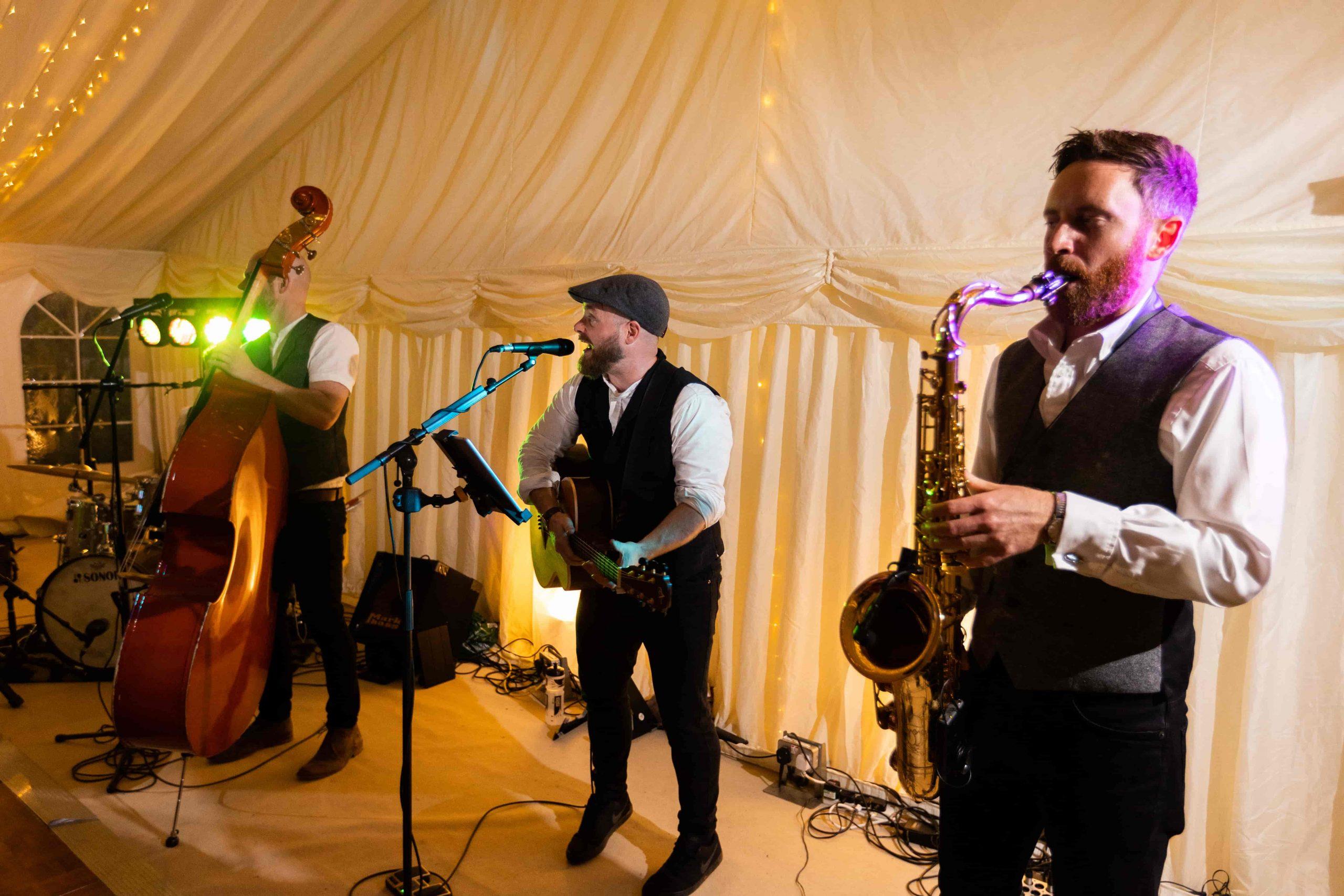 Festival folk wedding band The Wildermen