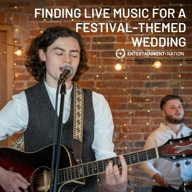 Finding Live Music For Your Festival-Themed Wedding