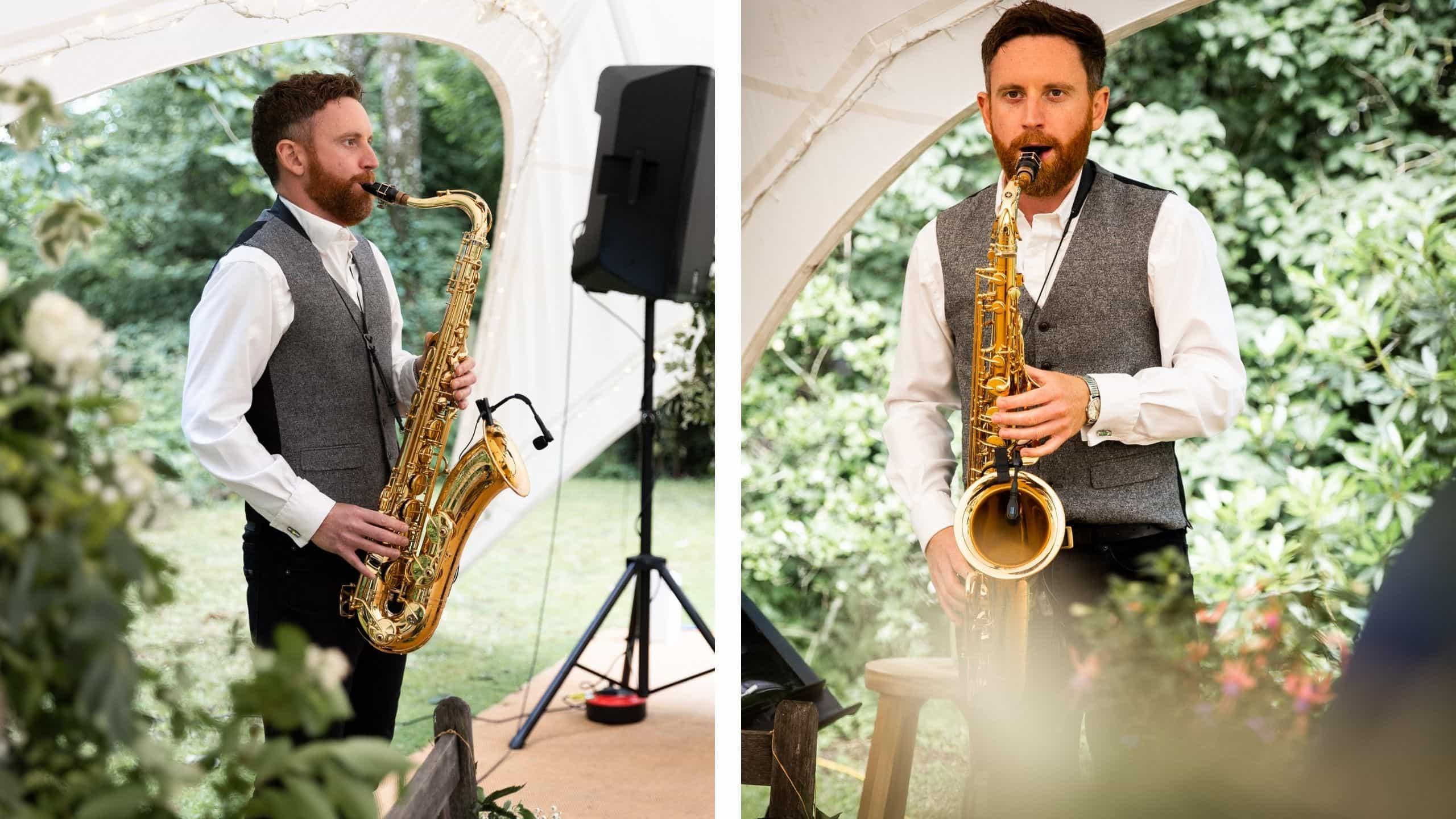 The Wildermen Saxophonist