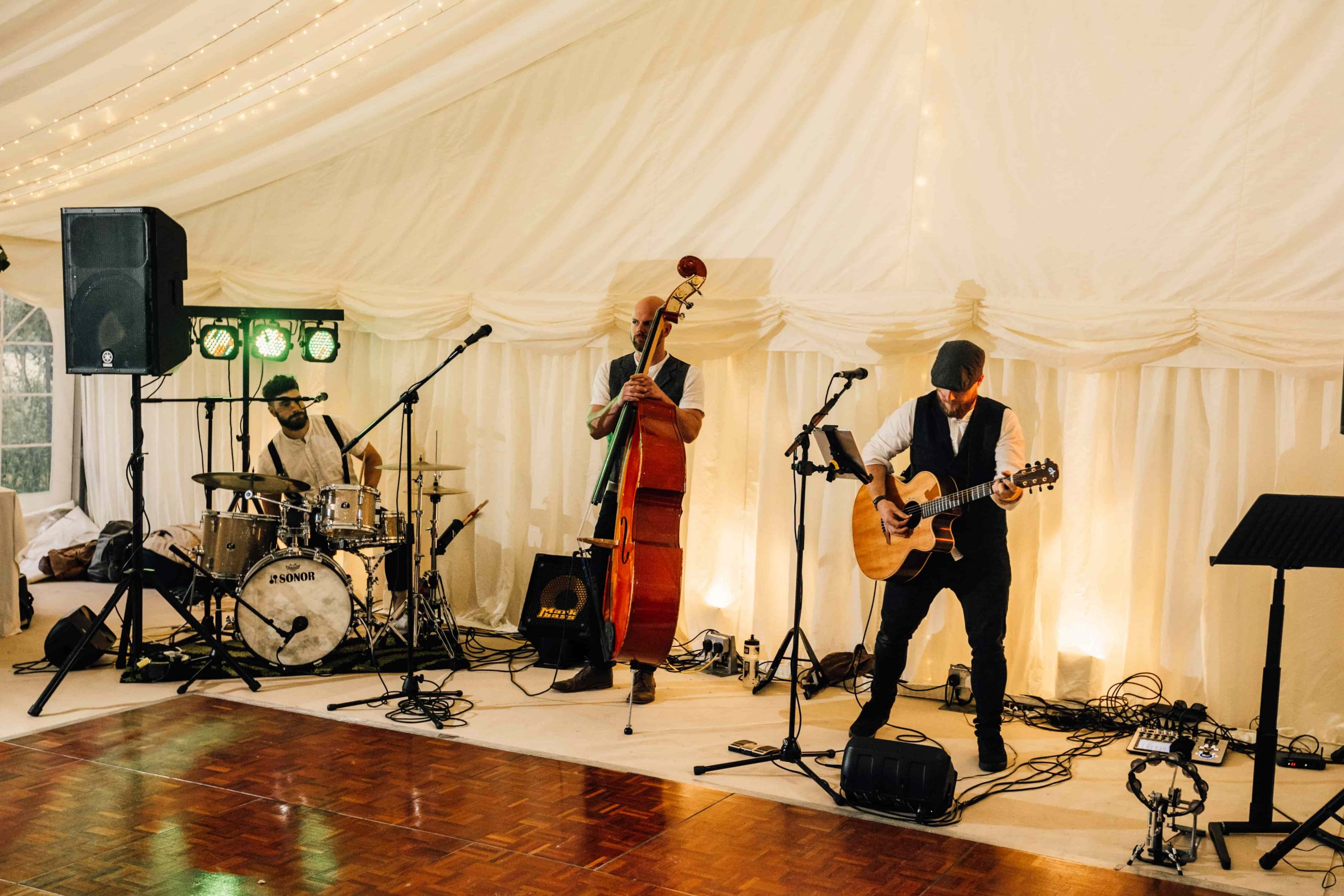 The Wildermen band sound check