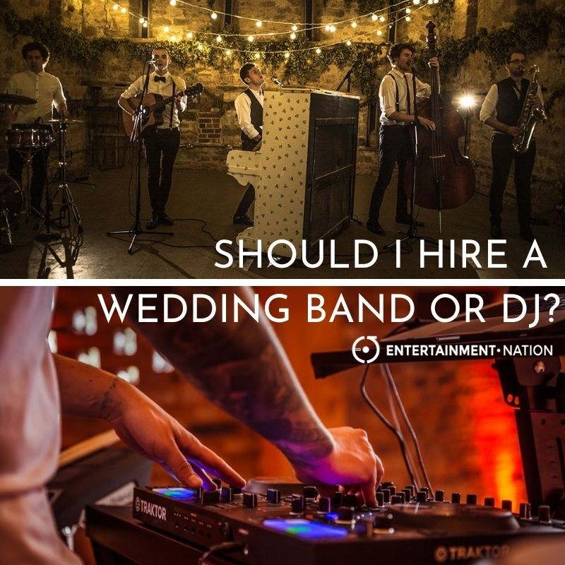 Wedding Band Or DJ? Your Guide On How To Decide